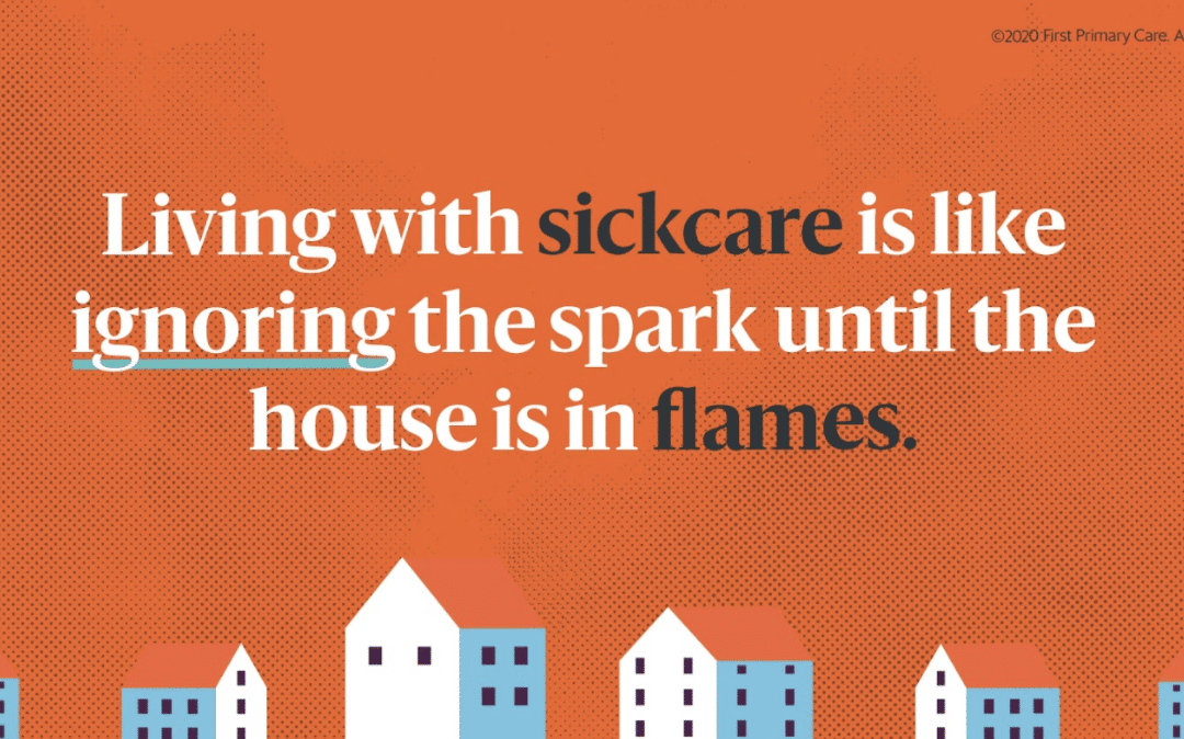 The Difference Between Healthcare And Sickcare